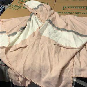 Pink Tie Cape